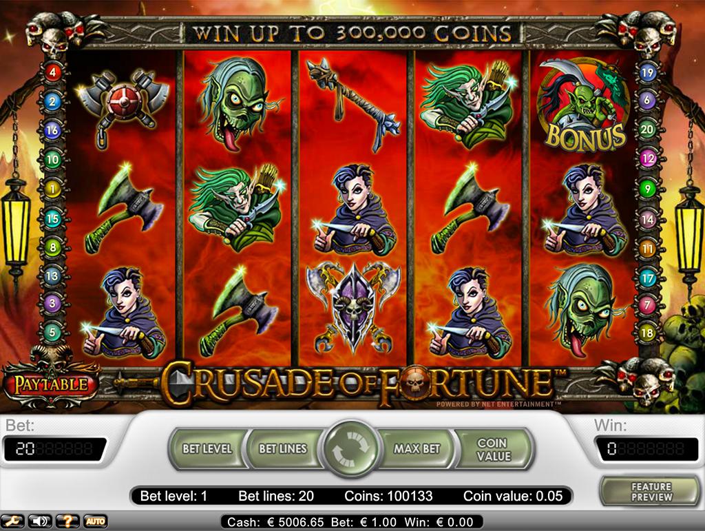 Crusade of Fortune peli